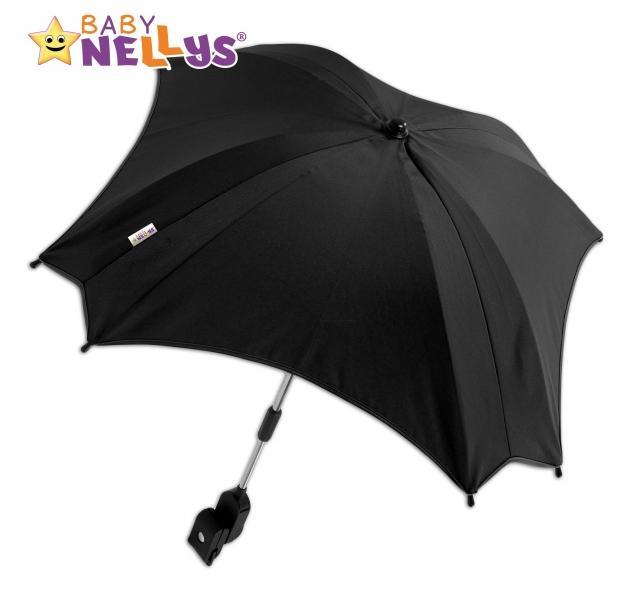 cb3e2a7c1 Slnečník, dáždnik do kočíka Baby Nellys ® - čierny