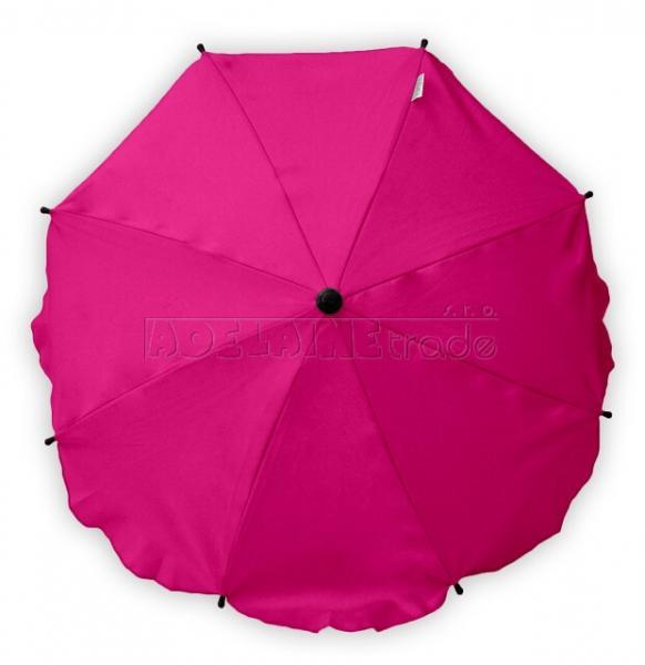 6045e3384 Baby Nellys Slnečník, dáždnik univerzálne do kočíka - ružový