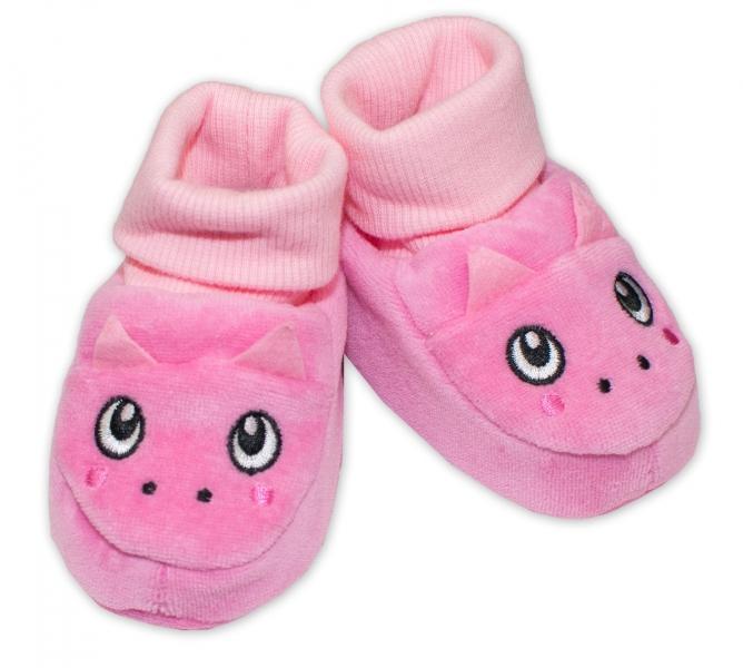 fb32ff378fdda YO ! Topánočky / capáčky YO! Dráčik - ružové, 0/6 měsíců