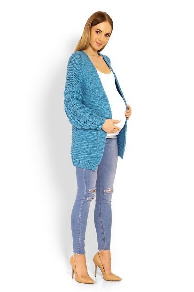 861333ab25e8 Moderný kardiganový svetrík Bomber - jeans