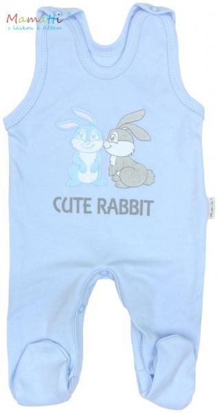 a74df1ff8e77 Súprava do pôrodnice v krabičke Mamatti - CUTE RABBIT - modrá