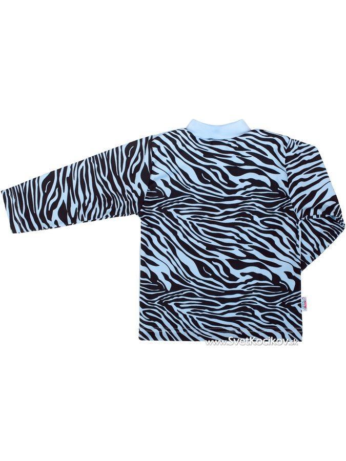 31399e7d6110 Detské bavlnené pyžamo New Baby Zebra s balónikom modré Modrá 128 (7-8  rokov)