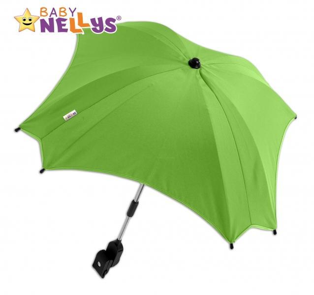 8d0abbde5 Slnečník, dáždnik do kočíka Baby Nellys ® - zelený