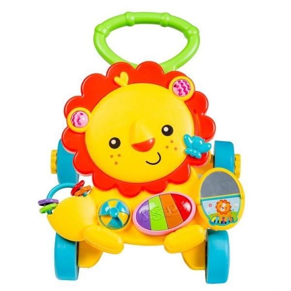 Detské interaktívne chodítko ECO TOYS - žlté 05dfa2879e9