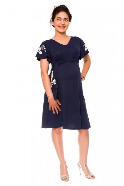 bdda24328d Be MaaMaa Elegantné tehotenské šaty Alexie