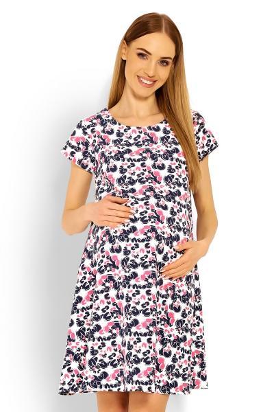 3e51413d5791 Be MaaMaa Elegantné voľné tehotenské šaty