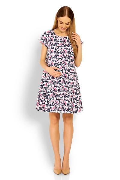 edd572d7e412 Be MaaMaa Elegantné voľné tehotenské šaty