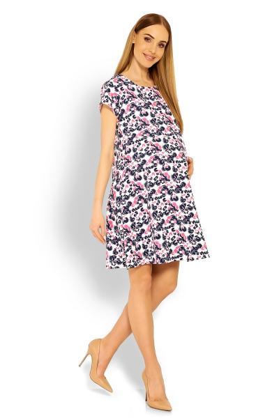 00d544fb7fe4 Elegantné voľné tehotenské šaty