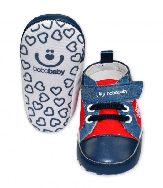 bbfe11b0db55 Topánočky   capačky BOBO BABY - Tenisky - Lion King - modrú červené ...