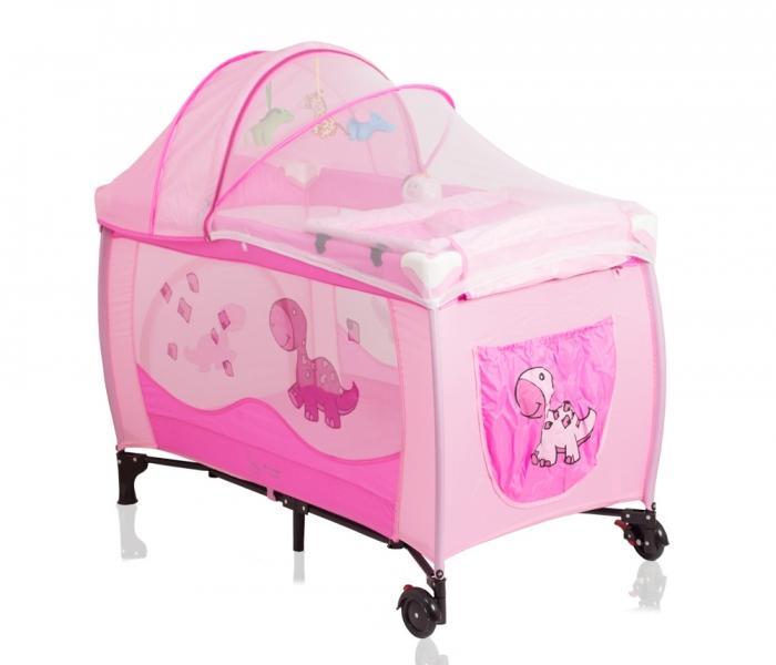 Cestovná postieľka SAMBA LUX DINO Coto Baby c9fb0b2e293