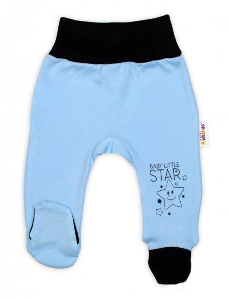 cef87a122 Baby Nellys 2-dielna sada body dl. rukáv + polodupačky, modrá - Baby Little  Star, veľ. 68, 68 (4-6m)