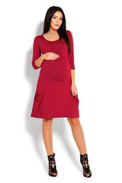 6e2d1651c2b3 Volné těhotenské šaty