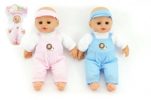 Bábika bábätko mäkké telo 27cm asst 2 farby v sáčku 10860606137