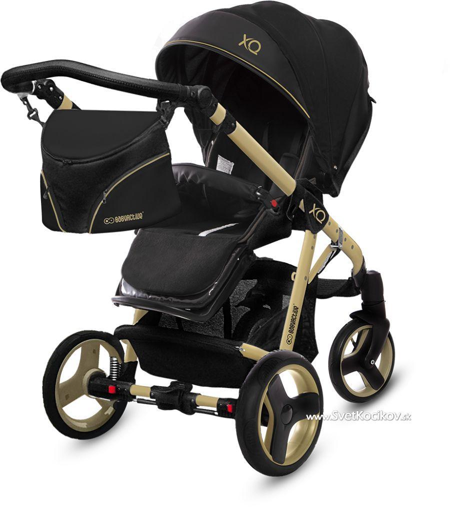 1fa84eb9f Športový kočík® Baby Active Sport XQ Gold 2019 ❺❺❺ Taška zadarmo