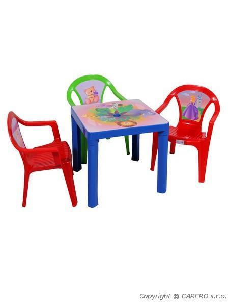 4c24b8ecf846 Detský záhradný nábytok - Plastový stôl