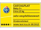 CASUALPLAY - Autosedačka Baby 0 plus 0-13 kg 2015 - RASPBERRY