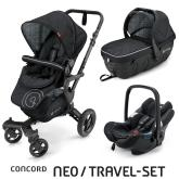 Travel Set Neo Air+Sleeper Midnight Black Concord 2016