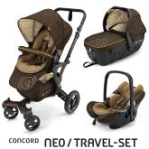 Travel Set Neo Air+Sleeper Walnut Brown Concord 2016