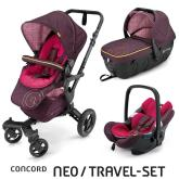 Travel Set Neo Air+Sleeper Rose Pink Concord 2016
