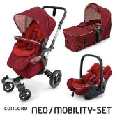 Mobility Set Neo Air+Scout Tomato Red Concord 2016