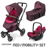 Mobility Set Neo Air+Scout Rose Pink Concord 2016