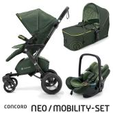 Mobility Set Neo Air+Scout limitovaná edícia Jungle Green Concord 2016