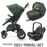 Travel Set Neo Air+Sleeper limitovaná edícia Jungle Green Concord 2016