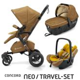 Travel Set Neo Air+Sleeper limitovaná edícia Sweet Curry Concord 2016