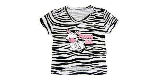 971353f18189 Tričko krátky rukáv Mamatti - Zebra v ZOO