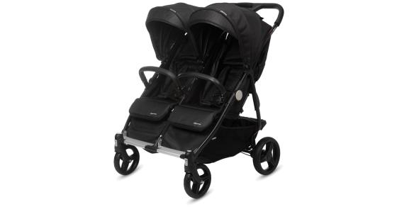 13f24a9d7ca5 CASUALPLAY - Playxtrem športový kočík pre dvojičky a súrodencov Baby Twin  2019 - Irongate (Black)