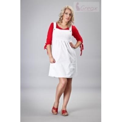 dea91804e334 Elegantné šaty - biela