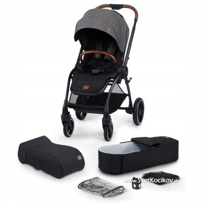 Kinderkraft Evolution Cocoon Platinum Grey 2020
